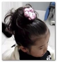 七五三の髪型!3歳の女の子 ...