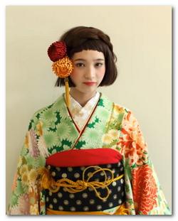 成人式 髪型 成人式 髪型 小顔 : 成人式の髪型は編み込み!和風 ...