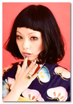 卒業式の髪型!袴×黒髪で古典 ...